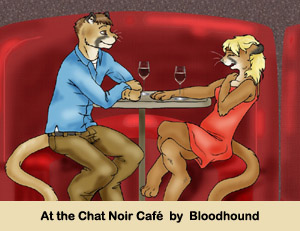 At the Chat Noir café by Bloodhound